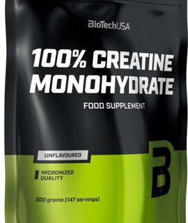100% Creatine Monohydrate Powder